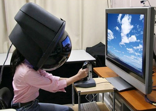 Toshiba Hyper-Reality Head-Dome Projector
