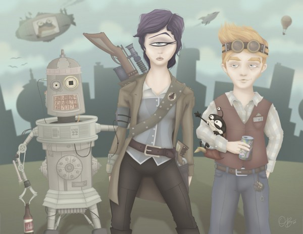 20100729_steampunk_futurama_by_whysoawesome-600x463