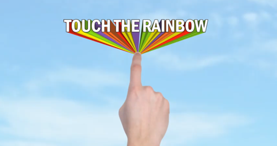 touche the rainbow