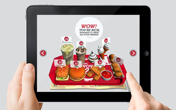 KFC-WOW-at-25-Augmented-Reality-App