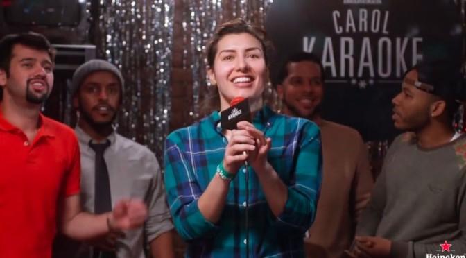 Heineken Carol Karaoke