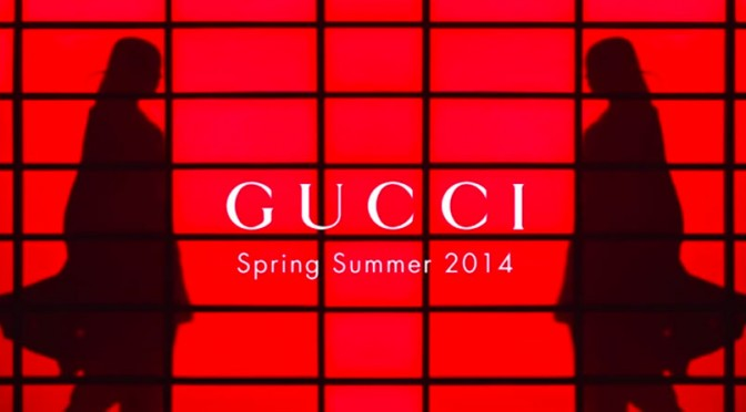 Gucci – The Spring/Summer 2014