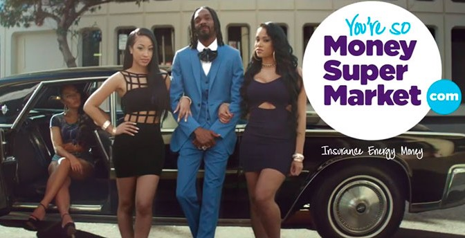 Snoop Dogg en star pour MoneySupermarket.com