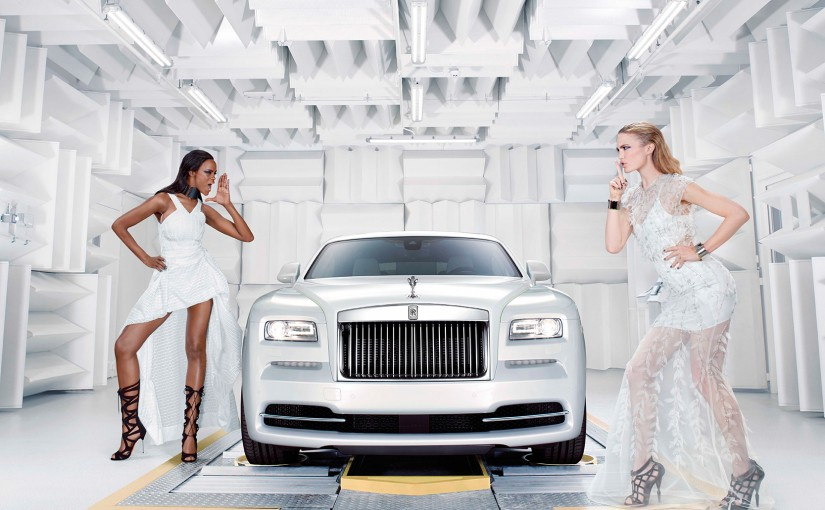 Rolls-Royce Wraith, Inspired by fashion