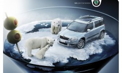 Skoda Yeti – Love it on the rocks