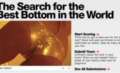 Butt contest – American Apparel