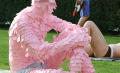 Swiss Cancer Foundation : Post-It-Man