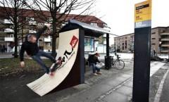 Arrets de bus créatifs