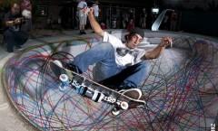 Skate peinture