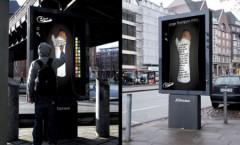 Les panneaux publicitaires interactifs de Sharpie